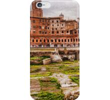 Trajan's Market and Forum - Impressions Of Rome iPhone Case/Skin