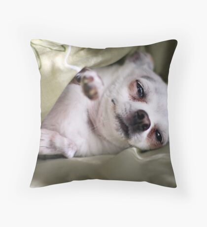 Is Morning, Bring Coffee Pls Throw Pillow
