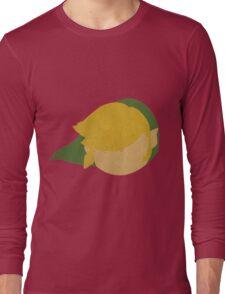 Legend of Zelda - Simplistic Link Long Sleeve T-Shirt