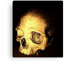 """Mummy"" dearest (skull) Canvas Print"