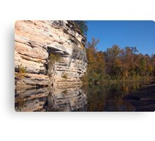 Buffalo Bluffs Canvas Print