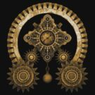 Steampunk Mystery T-Shirts and Stickers by Steve Crompton