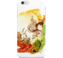 """""""PEEKABOO"""" from the series """"Angels of Protection"""" for Kids iPhone Case/Skin"""