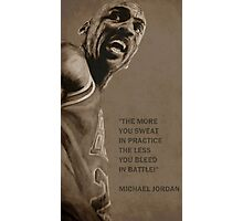 Michael Jordan - quote Photographic Print