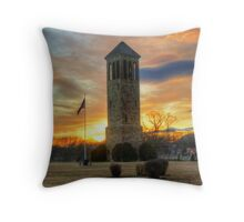 Singing Tower Of Luray Throw Pillow