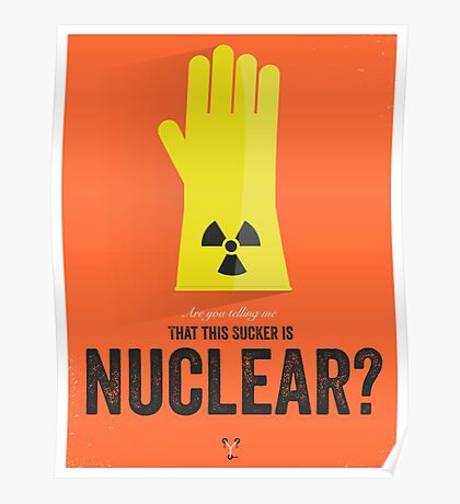 Cinema Obscura Series - Back to the future - Nuke Poster