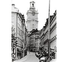 Streets of Sweden Photographic Print