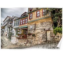 Old house Kavala Poster
