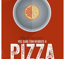 Cinema Obscura Series - Back to the future - Pizza by Geoff Bloom