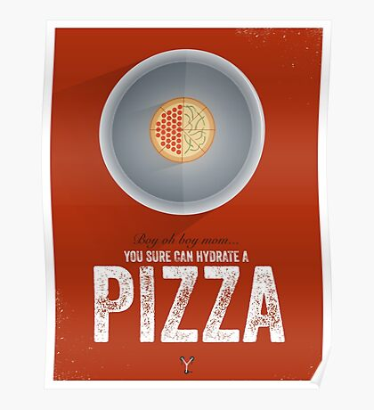 Cinema Obscura Series - Back to the future - Pizza Poster