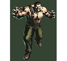 Final Fight - Mike Haggar  Photographic Print