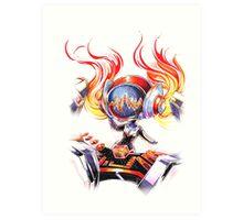 Chibi Concussion DJ Sona Art Print