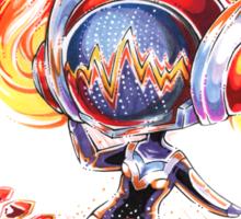 Chibi Concussion DJ Sona Sticker