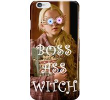 Boss Ass Witch Luna iPhone Case/Skin