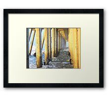 Piling on Destiny Framed Print