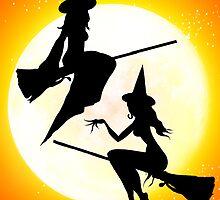 Halloween Girlz by dimarie