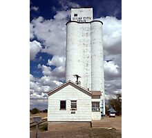 Sugar City Grain Elevator Photographic Print