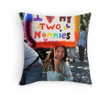 Equal Rights Throw Pillow