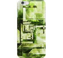 Lime Labyrinth iPhone Case/Skin