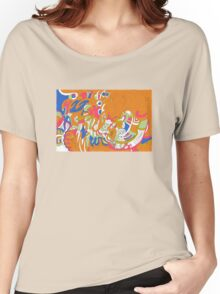 Rolling Sky Tee Women's Relaxed Fit T-Shirt