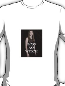 Zoe Benson Is A Boss Witch T-Shirt
