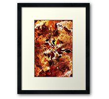 The Four Elements: Fire Framed Print