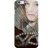 Medieval girl iPhone Case/Skin