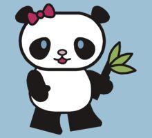 Cartoon Panda Baby Tee