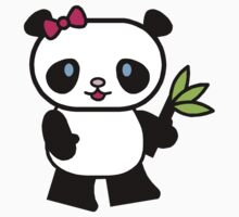 Cartoon Panda Baby Tee
