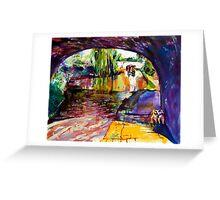 Bridge 31, Shropshire Union Canal Greeting Card