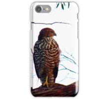 Brown Goshawk iPhone Case/Skin