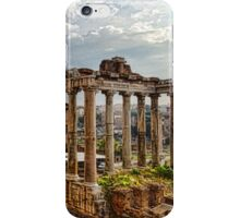 Ancient Roman Forum Ruins - Impressions Of Rome iPhone Case/Skin