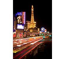 Las Vegas Blvd. Photographic Print