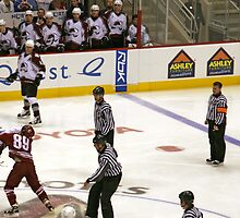 Avalanche vs Coyotes 12-31-05 by Judson Joyce