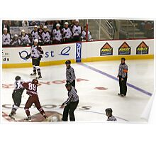 Avalanche vs Coyotes 12-31-05 Poster