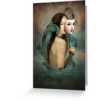 Linger in the Shadows Greeting Card