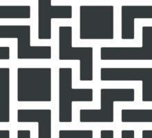 Tetris Damn Moment Sticker