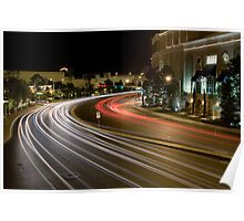 Curved Road Poster