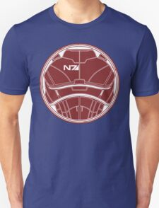 N7 Chestplate - Broshep Unweathered Unisex T-Shirt