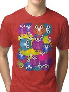 owlish T-shirt  Tri-blend T-Shirt