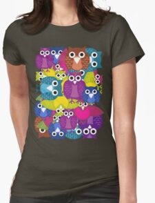 owlish T-shirt  Womens Fitted T-Shirt