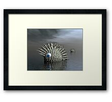 Seafood For Lunch Framed Print