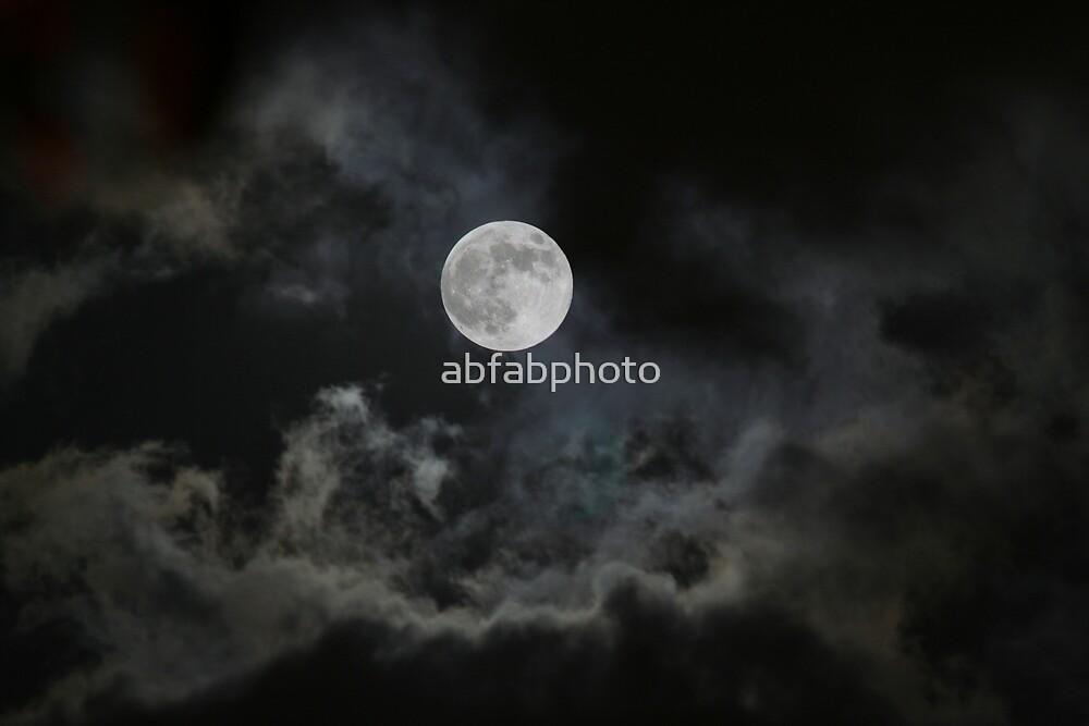 LA Full Moon by abfabphoto