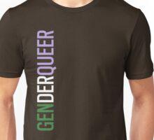 Genderqueer - Vertical Unisex T-Shirt