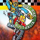 Dirt Bike Australia - Hot Stuff Poster by Wizard