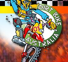 Dirt Bike Australia - Hot Stuff Poster by Wizard