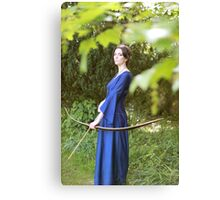 Morgana the archer Canvas Print