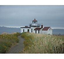 West Point Light Station Photographic Print