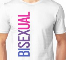 Bisexual - Vertical Unisex T-Shirt