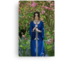 Morgana and Excalibur III Canvas Print